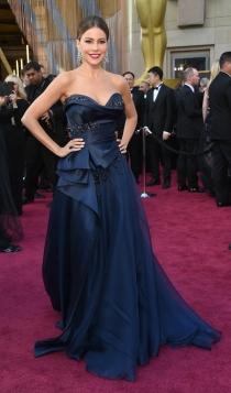 Oscars 2016: Sofía Vergara con su peor look
