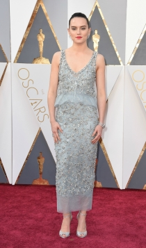 Oscars 2016: la primera vez de Daisy Ridley