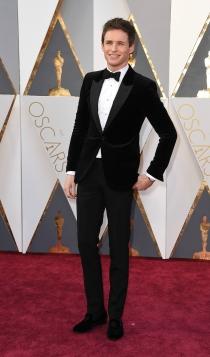 Oscars 2016: Eddie Redmayne, el más elegante