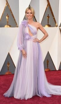 Oscars 2016: Heidi Klum, un Marchesa poco común