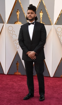 Oscars 2016: The Weeknd, un músico en la red carpet