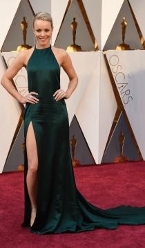 Oscars 2016: Rachel McAdams, a lo Angelina Jolie