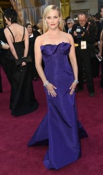 Oscars 2016: Reese Witherspoon, de morado