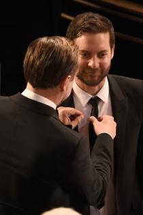 Gala Oscars 2016: DiCaprio, todo un caballero