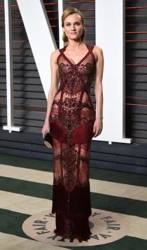 Vanity Fair Oscars 2016: Diane Kruger, muy sexy
