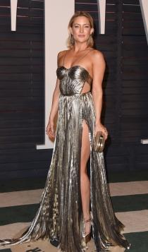 Vanity Fair Oscars 2016: Kate Hudson, ¿poco acertada?