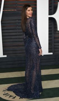 Vanity Fair Oscars 2016: Sara Sampaio, muy sexy