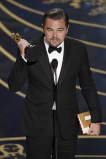 Gala Oscars 2016: El discurso de Leonardo DiCaprio