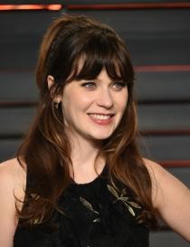 Peinados Oscars 2016: el pelo de Zooey Deschanel