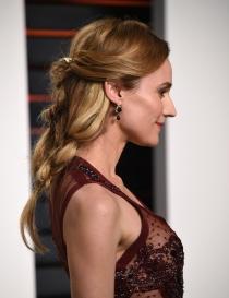 Peinados Oscars 2016: el recogido con bucles de Diane Kruger