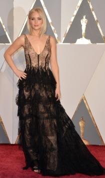 Oscars 2016: Jennifer Lawrence, muy sexy