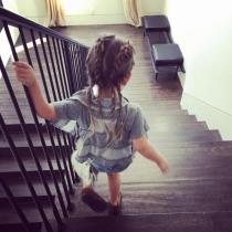 Boxer braids: un peinado para niñas, como la hija de Kourtney Kardashian