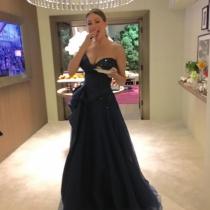 Oscars 2016: Sofía Vergara, comiendo en el backstage