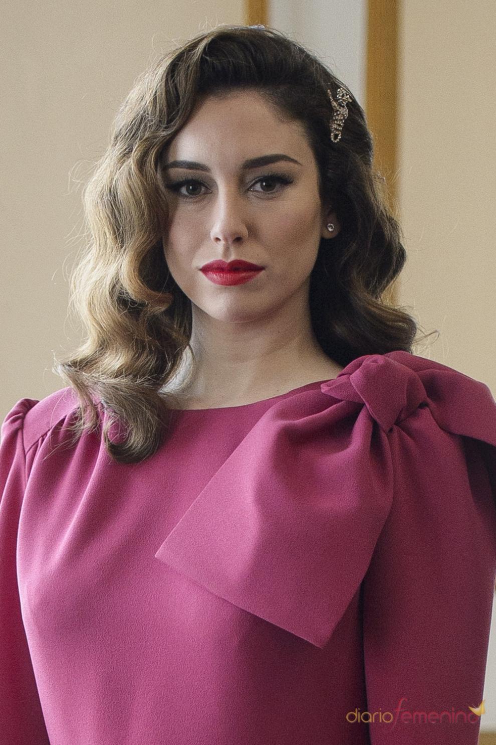 Peinados para bodas: Los clásicos bucles de Blanca Suárez