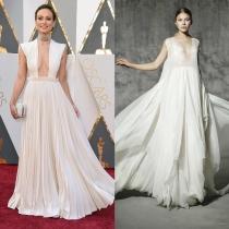 Olivia Wilde, una novia sofisticada en los Oscars 2016, YolanCris también lo propone