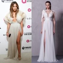 Ashley Tisdale, una novia moderna de Maria Luisa Hohan en los Oscars 2016