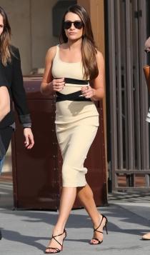 Lea Michele, muy sexy
