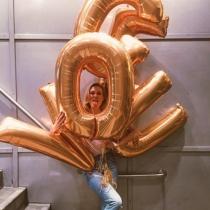 Karlie Kloss y su cara más divertida con VOGUE