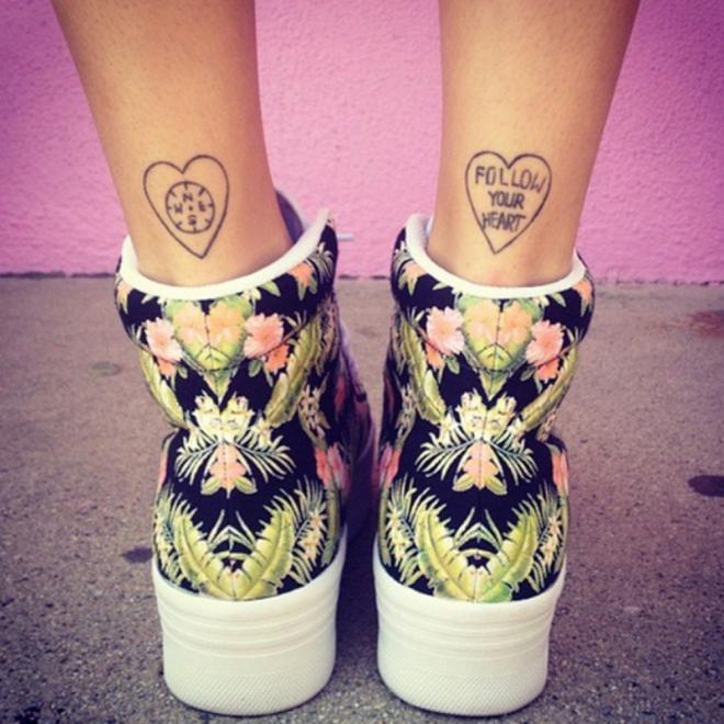 Tatuajes para el tobillo: una zona muy especial en la piel