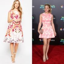 Vestidos de graduación: Shakira y la opción de ASOS