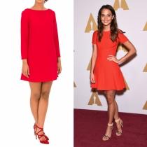 Vestidos de graduación: la opción en rojo de Alicia Vikander con Bgo & Me