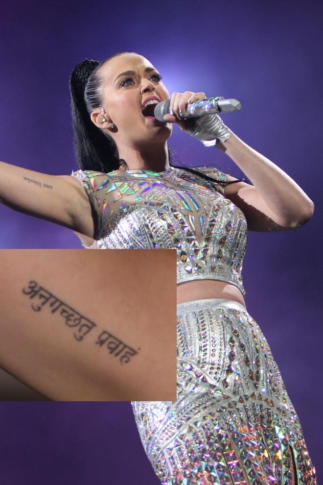Tatuajes En El Brazo La Frase De Katy Perry