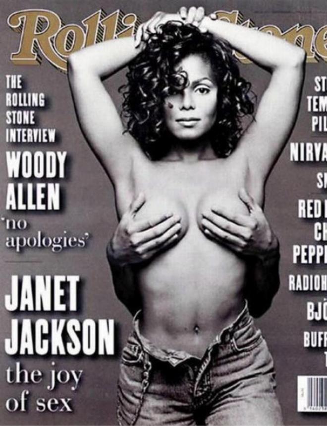 Parejas Que Posaron Desnudas Janet Jackson Muy Bien Agarrada