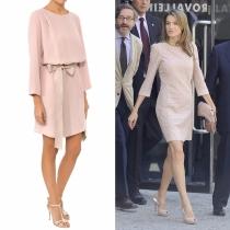 Vestidos de comunión para madres: la opción en rosa de Letizia