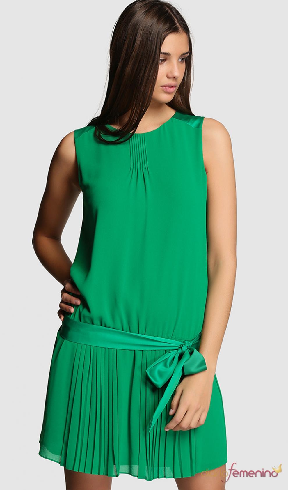 Vestido verde para san patricio la propuesta de el corte for Apliques de pared el corte ingles