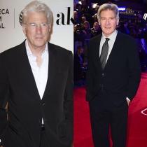 Famosos que se parecen: Richard Gere y Harrison Ford