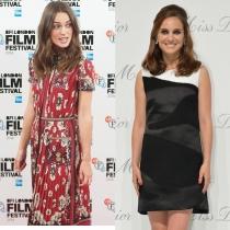 Famosos que se parecen: Natalie Portman y Keira Knightley