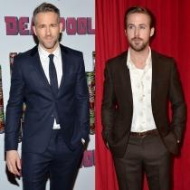Famosos que se parecen: Ryan Reynolds y Ryan Gosling