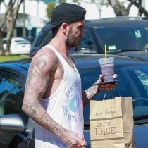 David Beckham también se apunta a la moda de los batidos detox