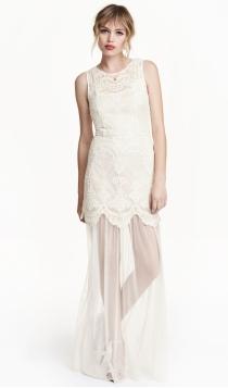 Una novia low cost puede vestir de H&M