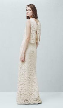 MANGO propone vestidos de novia low cost muy bohemios