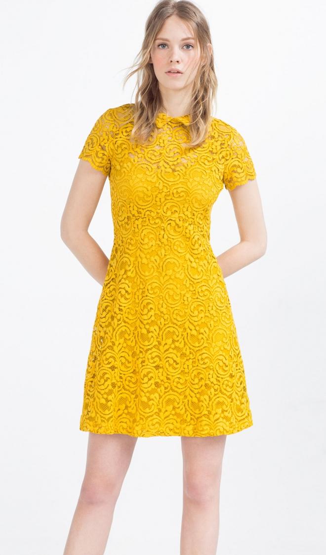 Vestido amarillo boda