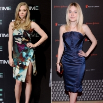 Famosos que se parecen: Dakota Fanning y Amanda Seyfried