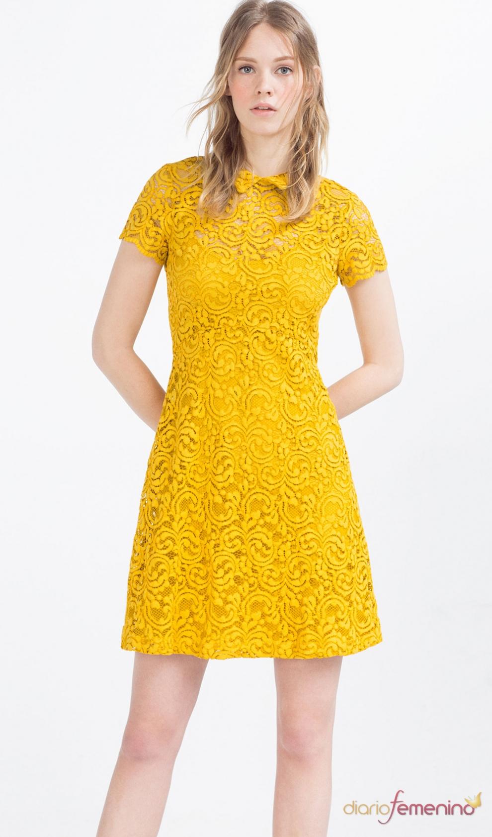 Vestido corto de fiesta zara