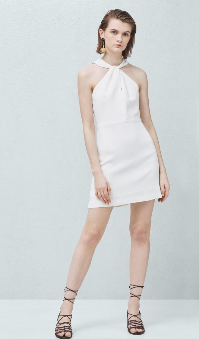 84c5caf6c Vestidos cortos de fiesta  el alma blanca de MANGO