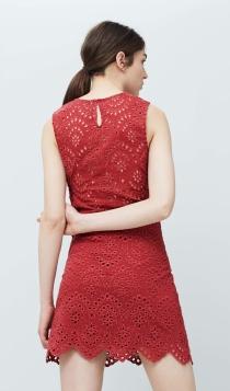 Vestidos cortos de fiesta: sé sexy de rojo con MANGO