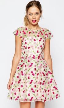 Vestidos cortos para fiestas: un diseño primaveral de ASOS