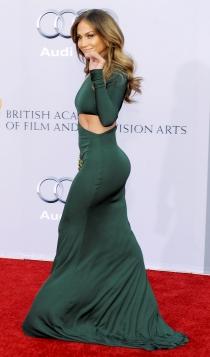 Jennifer Lopez, un culo de alfombra roja