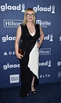 Premios Glaad Media 2016: Patricia Arquette, black & white