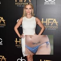 Tatuajes en la cadera: Los pájaros de Reese Witherspoon