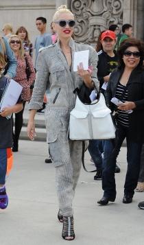 Gwen Stefani, el chándal y los tacones de moda