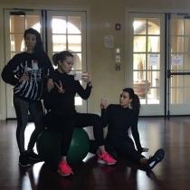 Las hermanas Kardashian se ponen deportistas