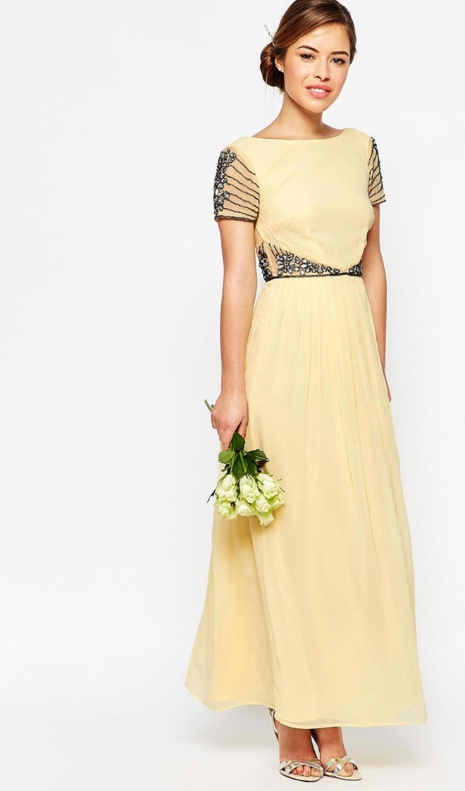 ecb14ce907 Vestidos para damas de honor amarillos – Vestidos de mujer