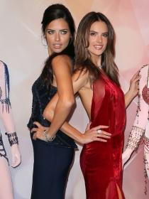 Alessandra Ambrosio es íntima amiga de Adriana Lima