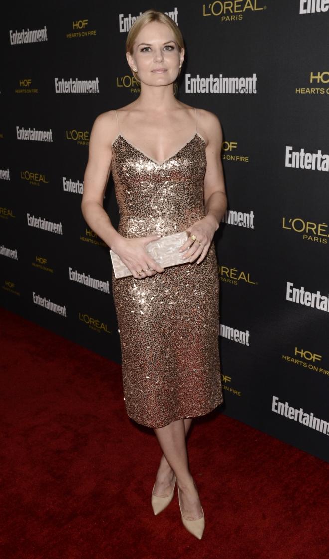 Jennifer Morrison apuesta por los brillos
