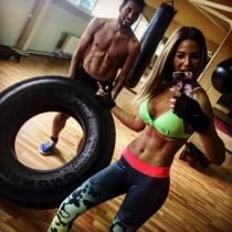 Famosas y deportistas: Tamara Gorro y Ezequiel Garay